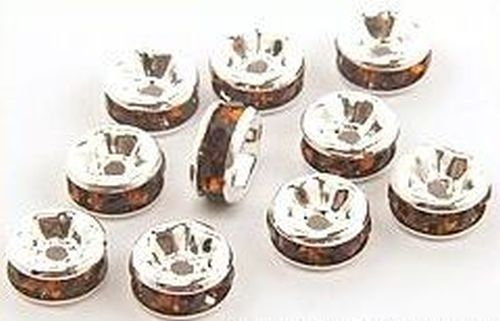 Bild: strassrondelle 6mm braun