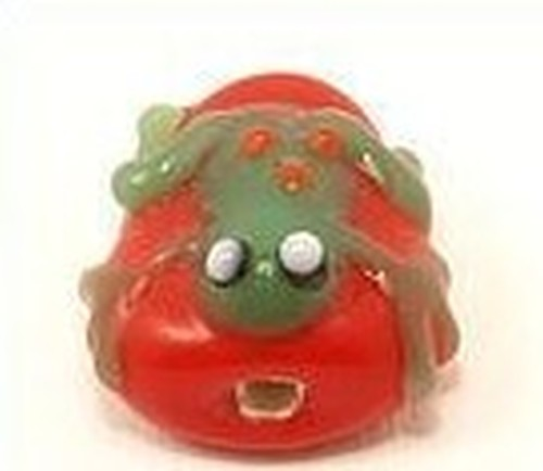 Lampwork_frosch_rot_front_1