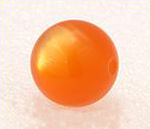 Polarperle orange #03 20mm