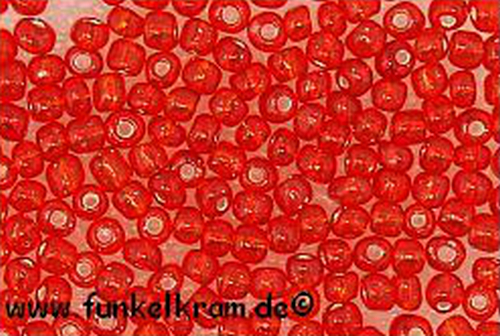 Rocailles 4mm nr. 25 rot